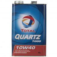 روغن موتور توتال مدل Quartz 7000 حجم 4 لیتر