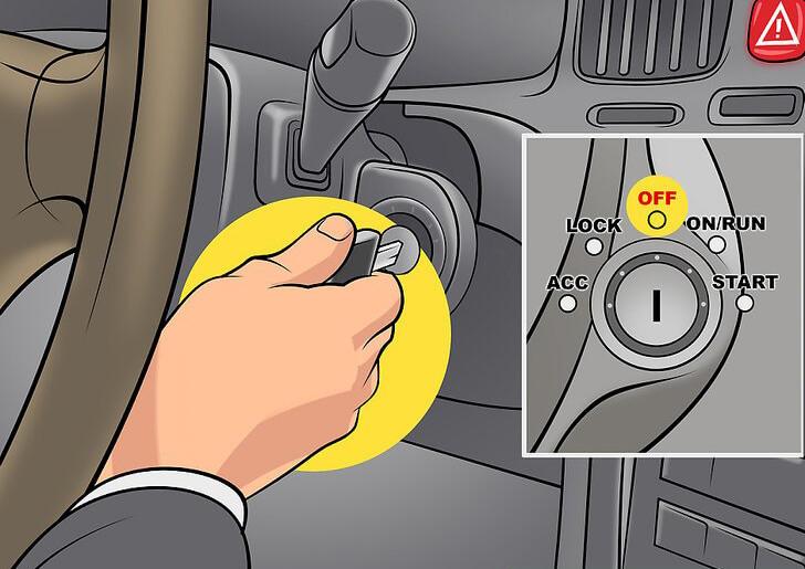 هرگز خودرو رو خاموش نکنید.