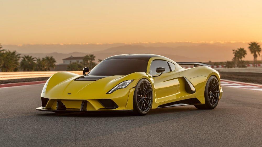 venom f5 یکی از سریع ترین خودرو های جهان